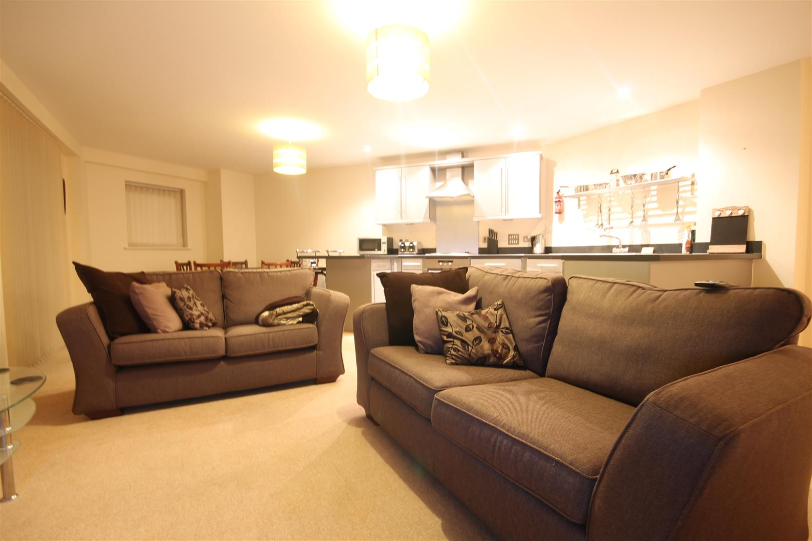 Rialto Building Newcastle Upon Tyne, 2 Bedrooms  Apartment ,To Let